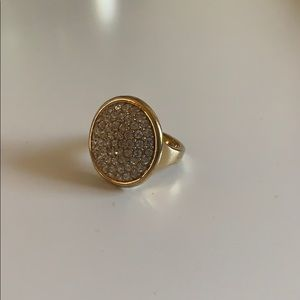 Ann Taylor gold cocktail ring